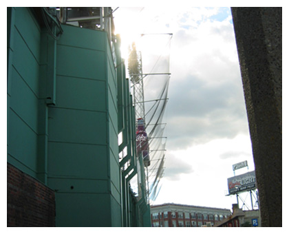 "Almanack: Landsdowne Behind the ""Green Monster"""