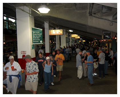 Almanack: Old-School Concessions Beneath Grandstands