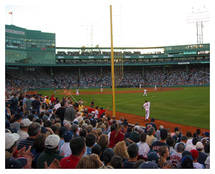 Almanack: View from the Right-Field Grandstands