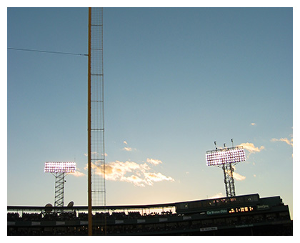 "Almanack: ""Pesky's Pole"" at Twilight"