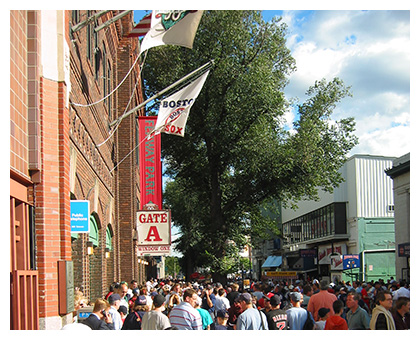 Almanack: Yawkey Way Main Entrance