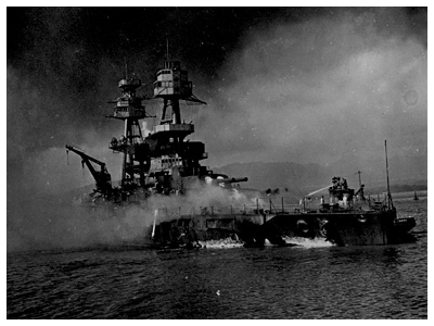 Almanack Feature: The Day of Infamy » U.S.S. Nevada Attempts to Escape