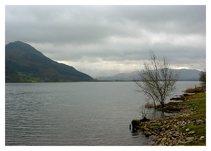 Almanack Feature: Cumbria, England / Lake Bassenthwaite, Lake District