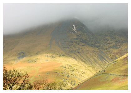 Almanack Feature: Cumbria, England / Fog on a Fell
