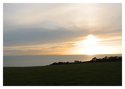 Almanack Feature: Cumbria, England / The Irish Sea at Sunset
