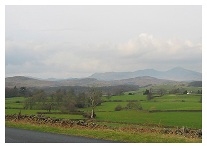 Almanack Feature: Cumbria, England / Cumbria, South of the Lake District