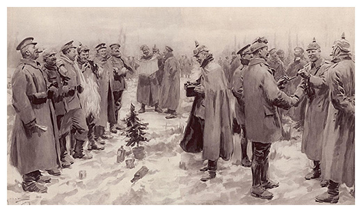Almanack: Christmas Truce of 1914